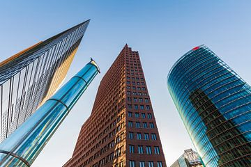 Potsdamer Platz à Berlin sur Werner Dieterich