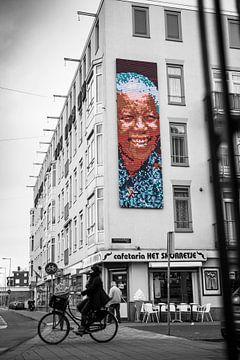 Nelson Mandela Street Art van PIX URBAN PHOTOGRAPHY