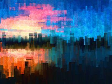 Abstrakte Kunst - Abstrakte Komposition 17 von Alexandra Kleist