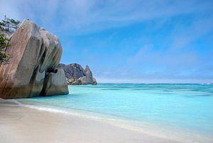Seychellen, La Digue, Source d'Argent van