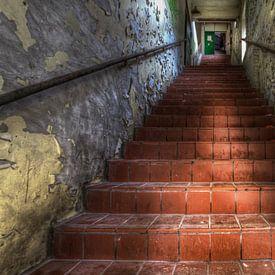 Escalier vers...... sur Eus Driessen