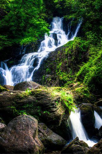 Torc Waterfall, Killarney National Park, Ireland van