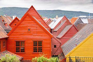 Farbige Häuser von Sam Mannaerts Natuurfotografie