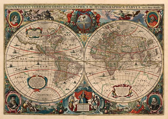 Hondius verdenskart, 1641