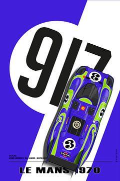 917 Gerard Larrousse, Willi Kauhsen Le Mans 1970