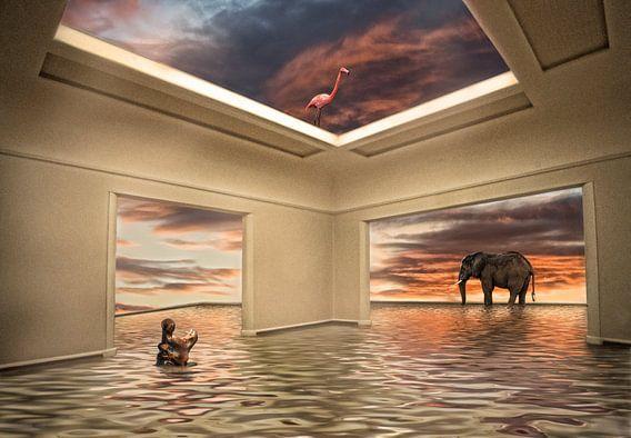 Noach's room  van Marcel van Balken