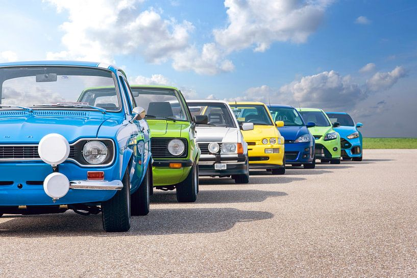Ford RS Generationen von Sytse Dijkstra