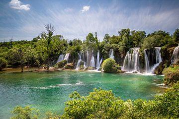Kravica Wasserfall von Kristof Ven