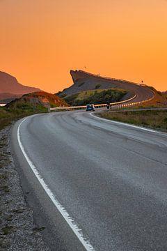 Atlantic road Noorwegen van Nico Buijs