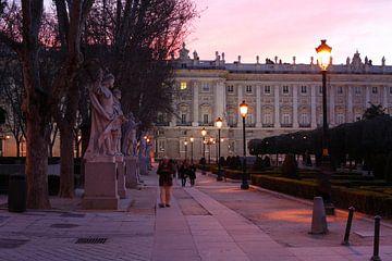 Palacio Real am Plaza de Oriente,  Madrid, Spanien
