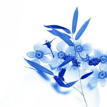 Delftsblauwe Bloemen - Bloem 34 van Mariska van Vondelen