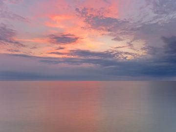 Sonnenuntergang über der Ostsee von Katrin May