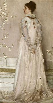 Symphonie en couleur chair et rose : Portrait de Mme Frances Leyland, James McNeill Whistler sur