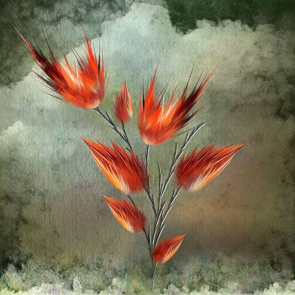 Flame II van Jacky Gerritsen