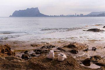 Schoenen aan Zee van Alexander Michalewski