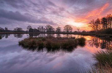 Sonnenaufgangspool (Niederlande) von Marcel Kerdijk