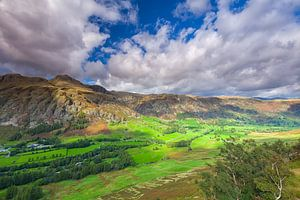 Uitzicht vanaf Side Pike in de Lake District