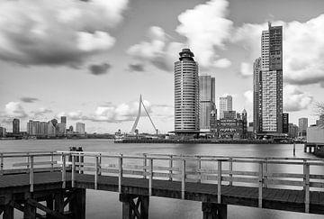 Rotterdam Skyline an der Spitze des Südens von