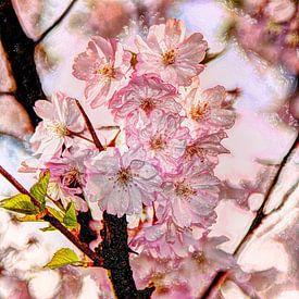 Digital Art Medium Bloemen Planten Bloesem van Hendrik-Jan Kornelis