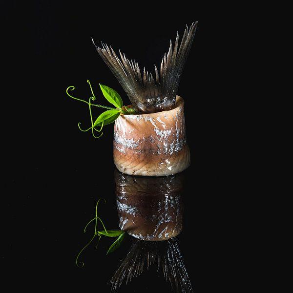 Nederlandse nieuwe haring, Dutch fresh herring 2 van Corrine Ponsen