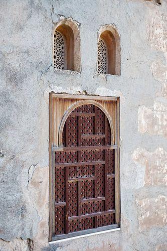 Gevel in het Alhambra van