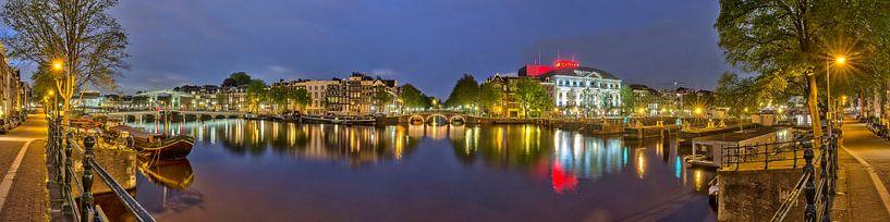 Amstel Panorama met Carre van Bob de Bruin