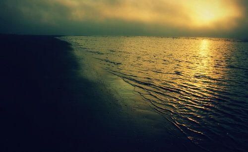 Sunset, Schiermonnikoog. van