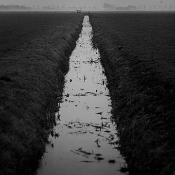 Winter in de polder von Rene  den Engelsman