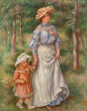 Renoir, Die Promenade (1906)