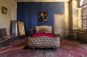 Verlaten Slaapkamer in Kasteel.