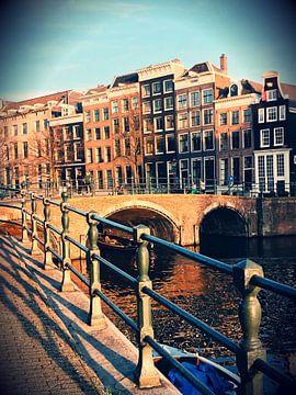 Grachten von Amsterdam von Zain Usman