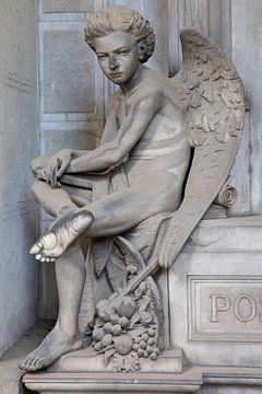Sitzender Engel von Joost Adriaanse