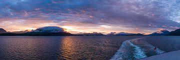 Zonsondergang op de binnenpassage van Denis Feiner