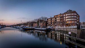 De oude haven Vlaardingen van