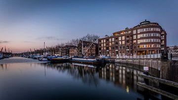 De oude haven Vlaardingen van Martijn Barendse