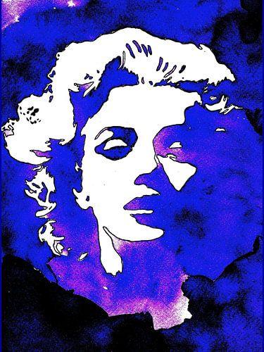MarilynBlue van