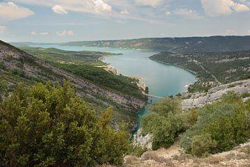 Gorges du Verdon de Grand Canyon du Verdon lac de Sainte Croix von Rene du Chatenier