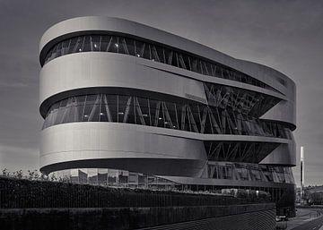 Mercedes Benz Museum Achteraanzicht van Keith Wilson Photography