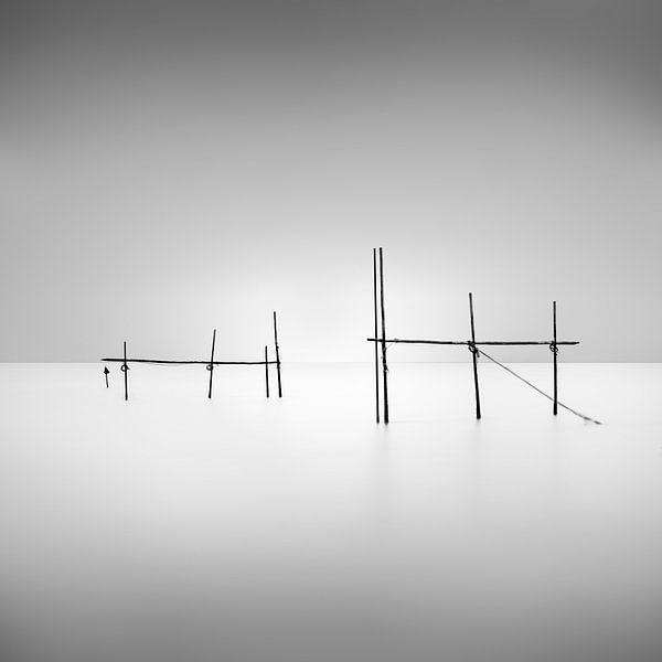 Minimale Seelandschaft von Niels Devisscher