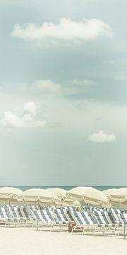 Vintage Strandidylle | Panorama van Melanie Viola