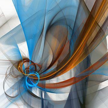 fractal veils van Isa Bild