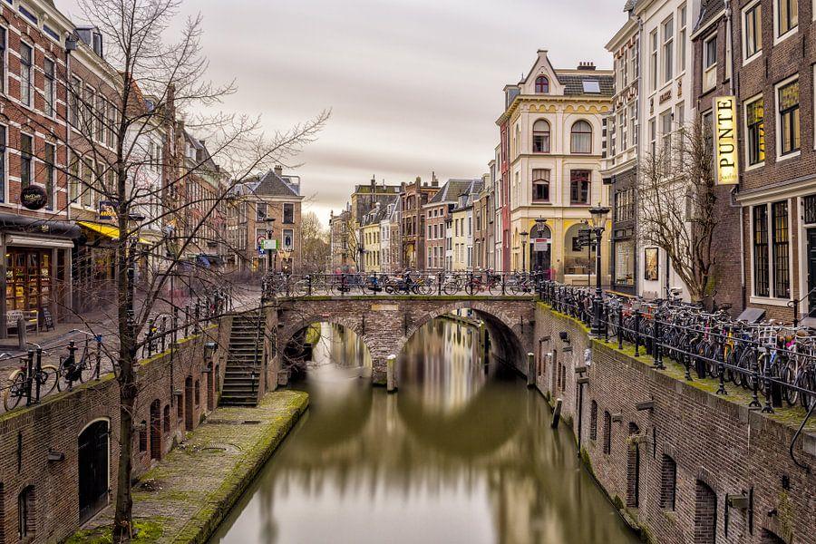 Vismarkt & Oudegracht - Utrecht van Thomas van Galen