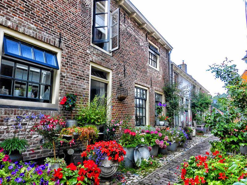 Bloemenstraatje Elburg II van Jessica Berendsen