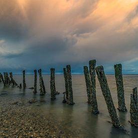 Waddenzee 6 van Peter Bijsterveld