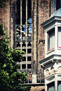 Tien voor vijf op de Utrechtse Domtoren van