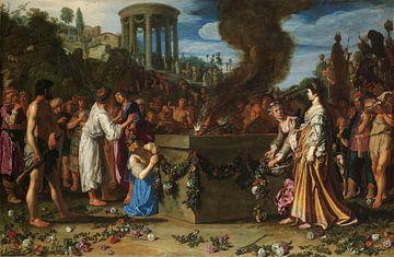 Die Opferschlacht zwischen Orestes und Pylades, Pieter Lastman, 1614