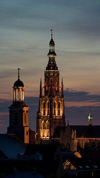 Breda Skyline Grote Kerk van