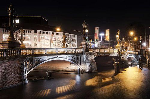 Amsterdam city at night