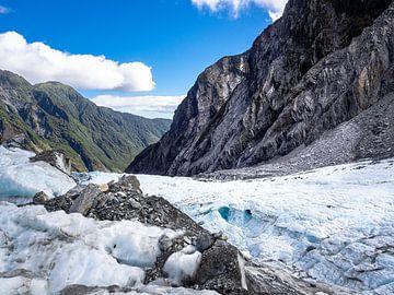 De snelle Franz Josef gletsjer van Rik Pijnenburg
