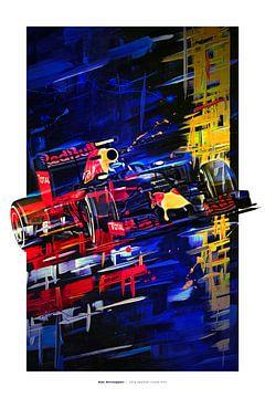 Max Verstappen von Nylz Race Art